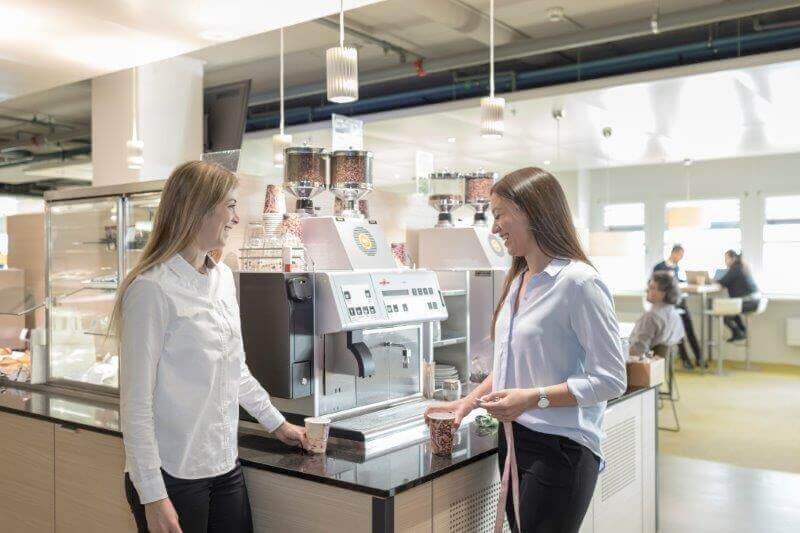 Valora Mitarbeiter Kaffee
