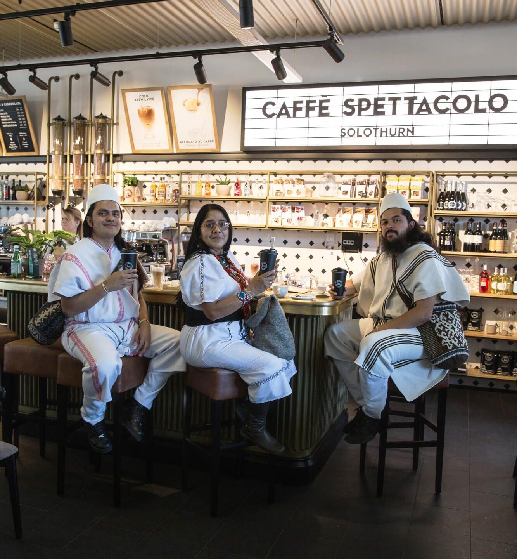 Vertreter der ANEI im Caffè Spettacolo Solothurn