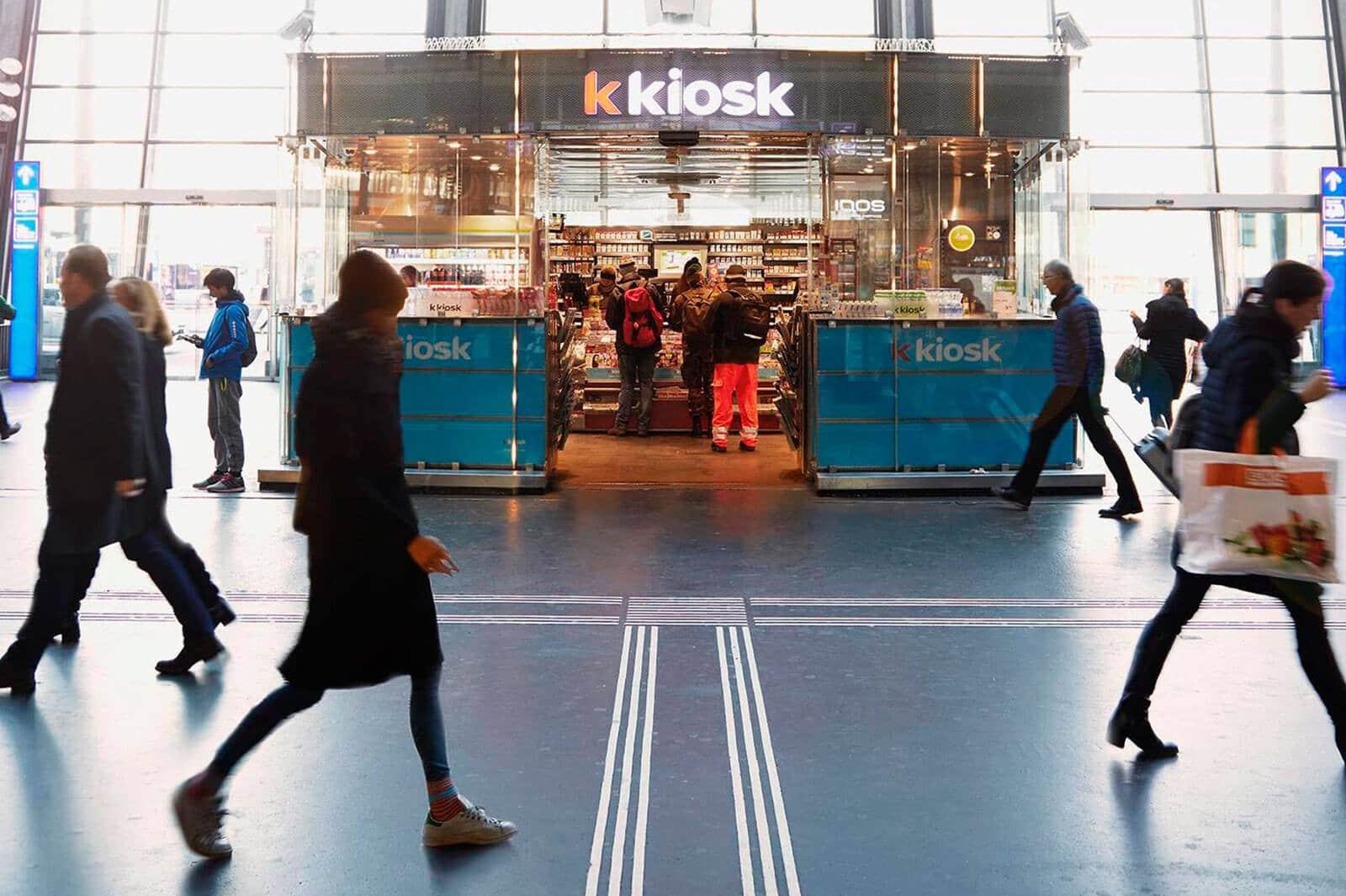 k kiosk, offline, online, services, Valora, numérisation, retail