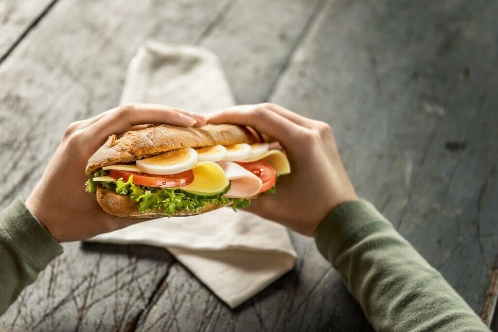 BackWerk, snacking, sandwich, eating habits, Germany, study