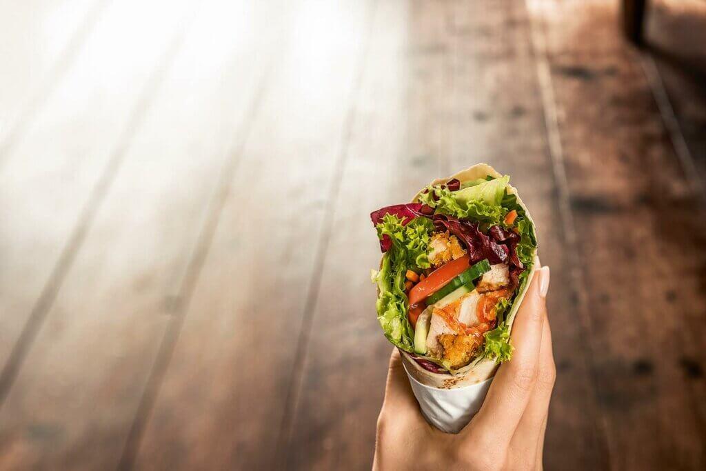 BackWerk, snacking, wrap, eating habits, Germany, study