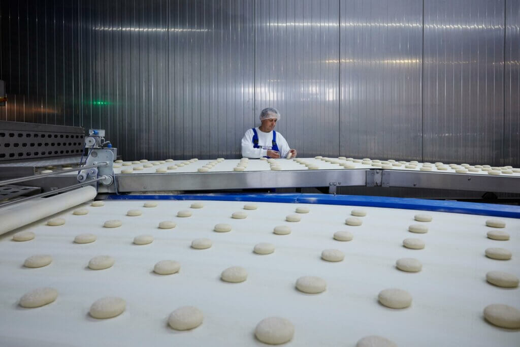 Valora, Food Service, Ditsch, production, Oranienbaum