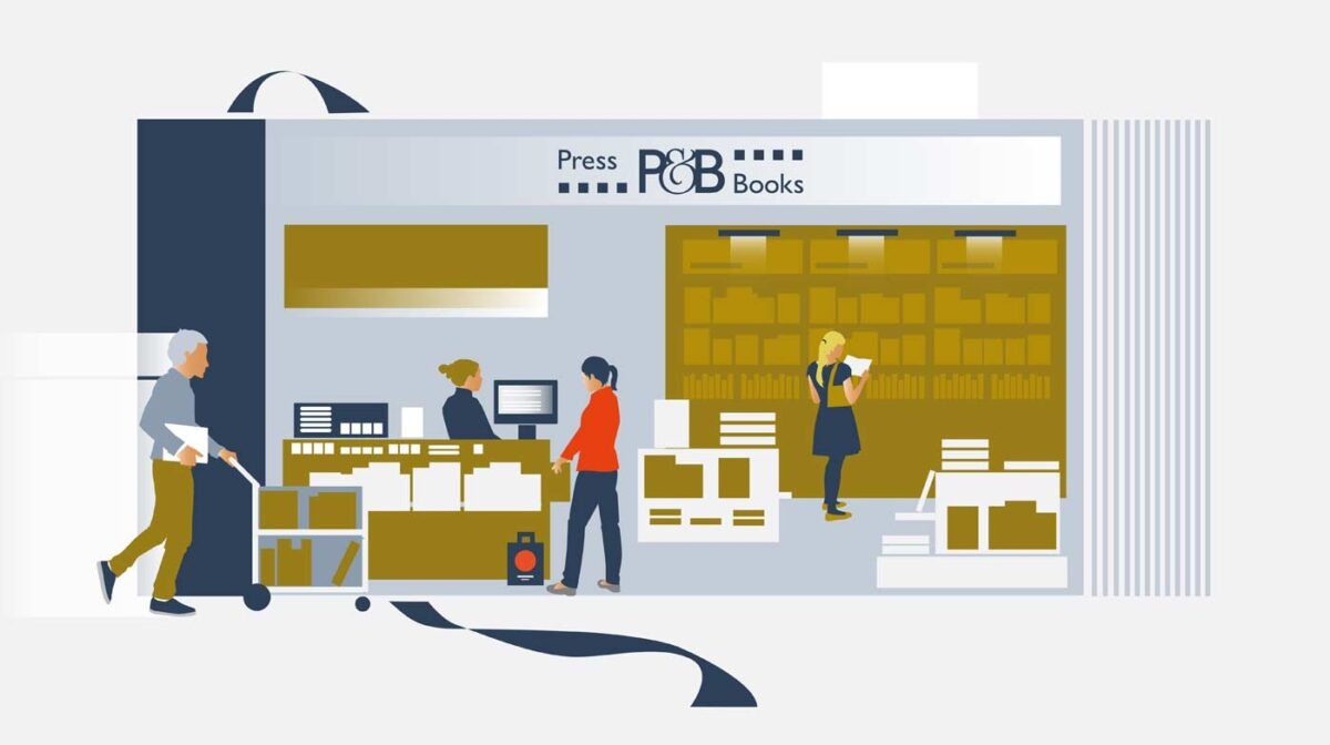Press & Books, Retail, amazon, services