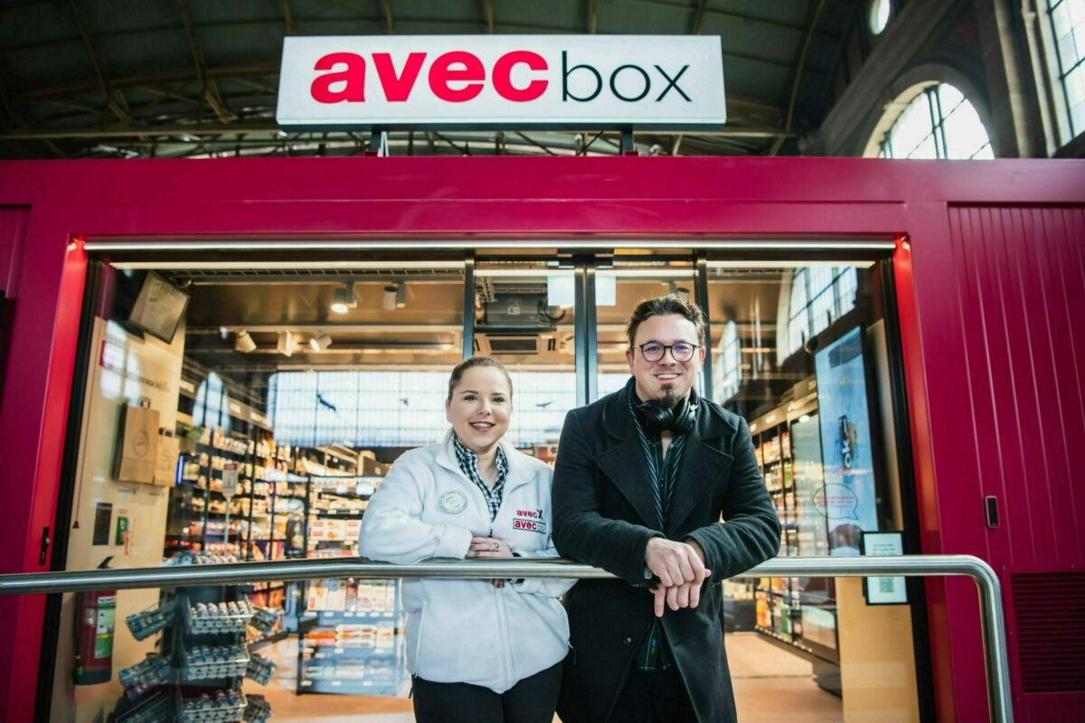 avec box and avec X are Switzerland's most modern convenience stores.