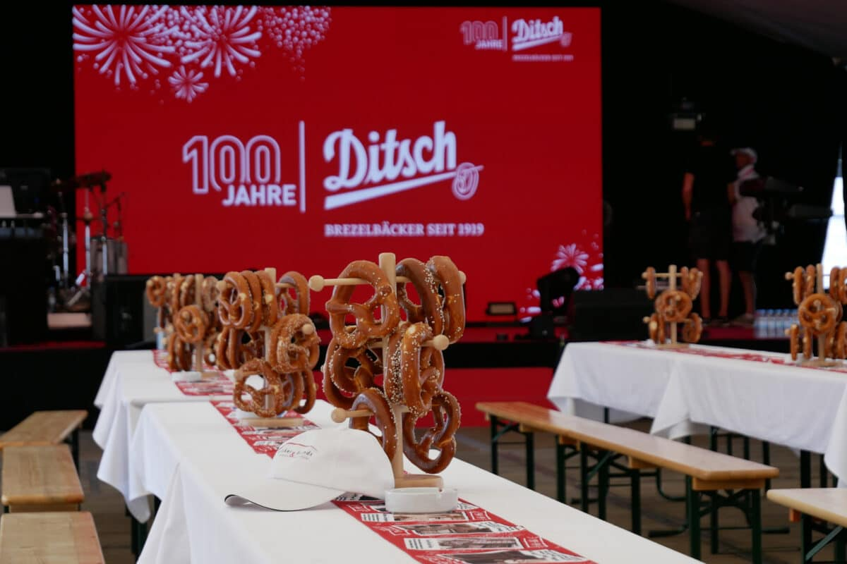 Ditsch stands for pretzels. That's it.""