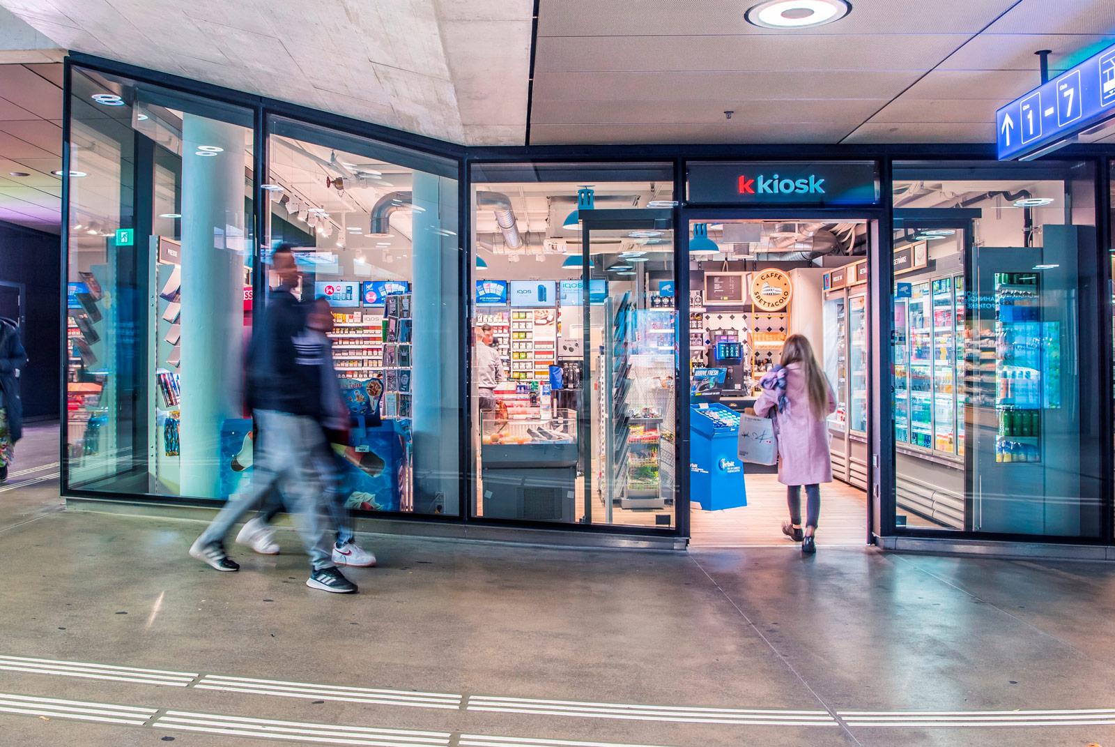 k kiosk, Valora, Retail, Convenience, Mehr Food
