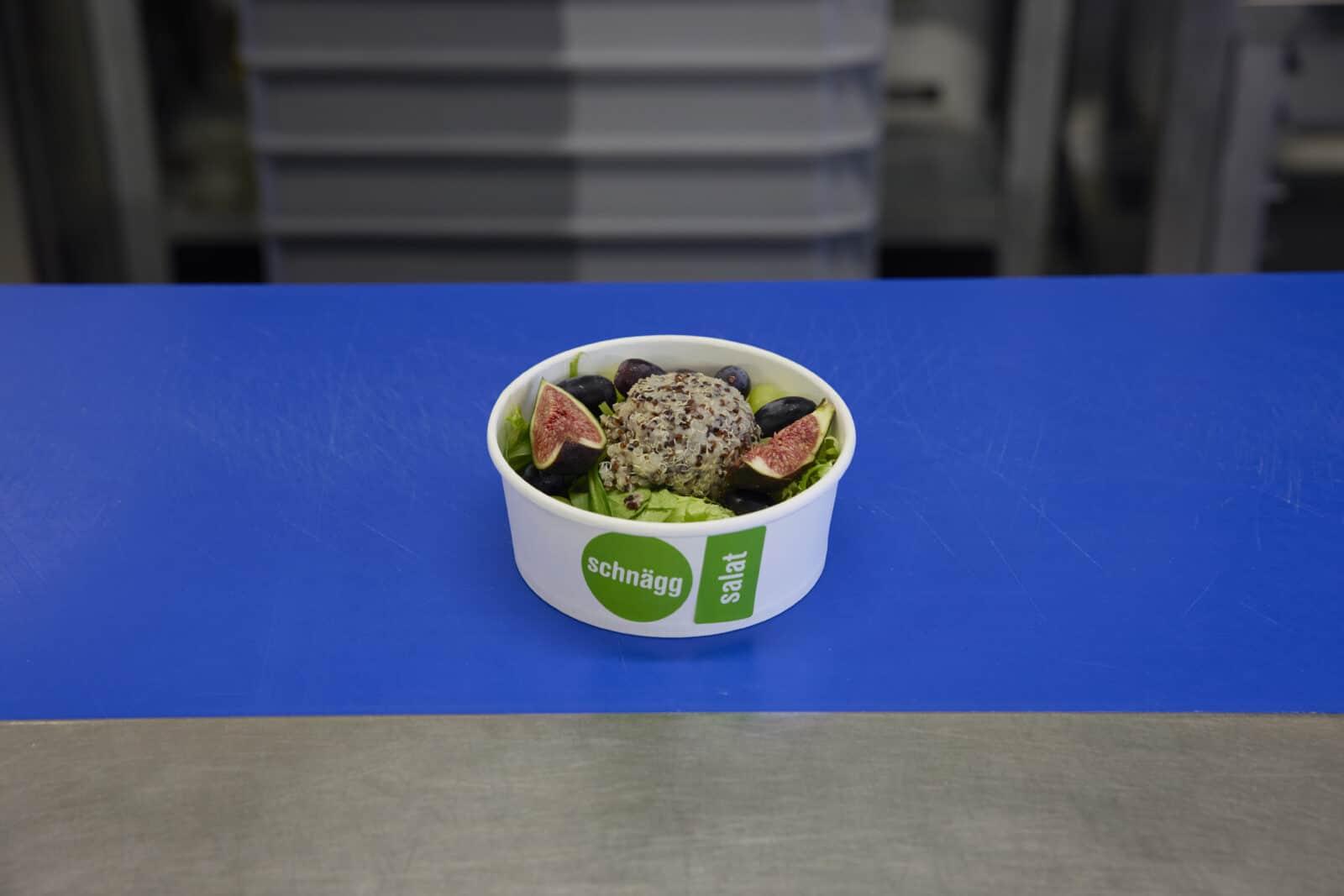Vegane und vegetarische Produkte: Salatbowl von schnägg 1