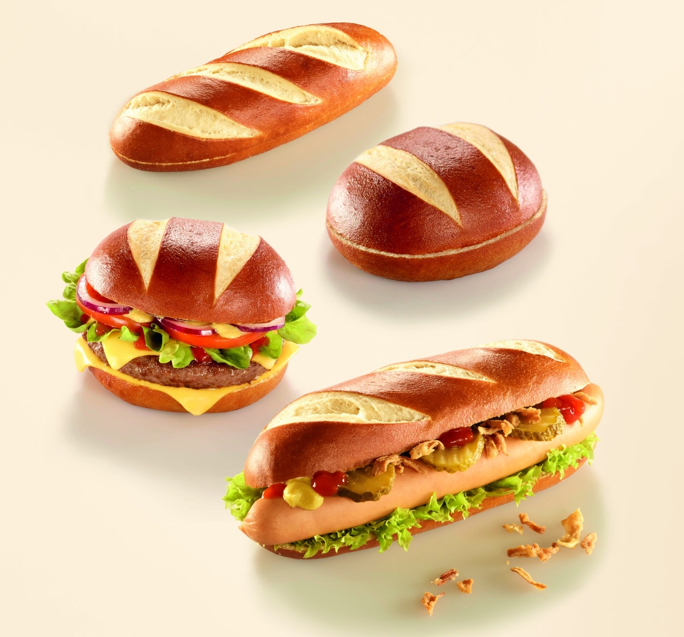 59x55mm Burger Hotdog 1