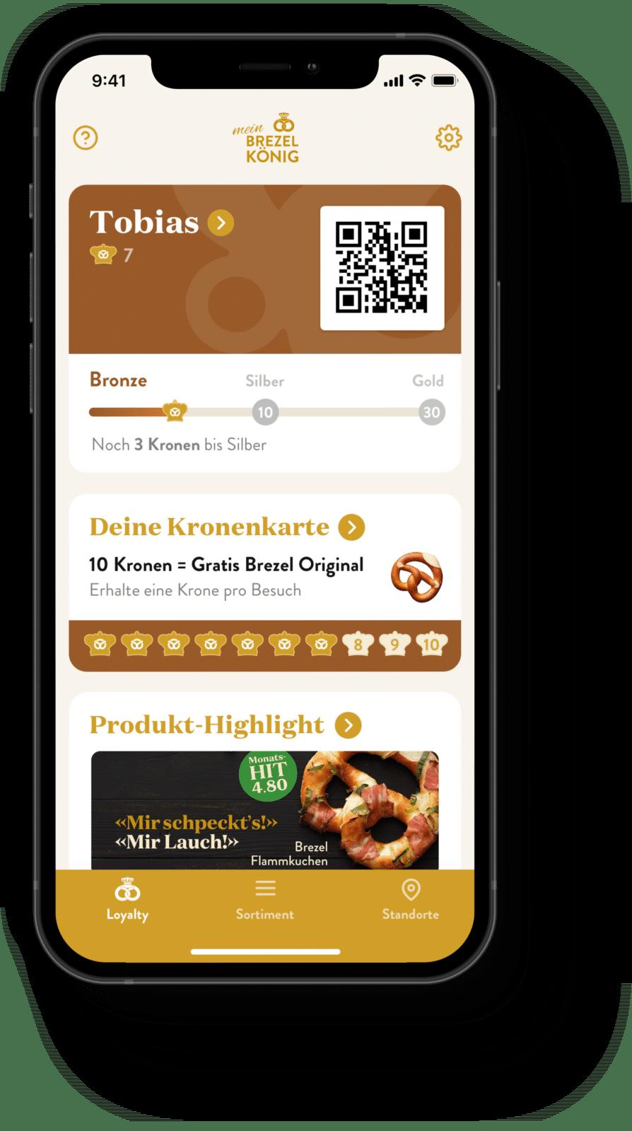 Brezelkönig App