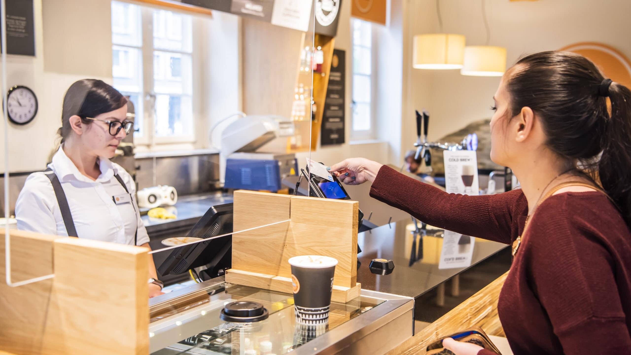 Valora Caffé Spettacolo payment bargeldloses bezahlen